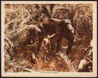 "The Return of Tarzan (Goldwyn, 1920). Mini Lobby Card (8"" X 10""). Action"