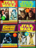 """Movie Posters:Science Fiction, Star Wars Official Poster Monthly (Paradise Press, 1970s/1980s). Magazines (16) (Multiple Pages,8.5"""" X 11""""). Science Fiction... (Total: 16 Items)"""