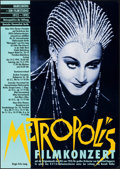 "Movie Posters:Science Fiction, Metropolis (Deutcsch Kinemathek Berlin, R-1992). German A1 (23.5"" X 33""). Science Fiction.. ..."