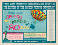 "Movie Posters:Adventure, Around the World in 80 Days (United Artists, 1956). Half Sheet (22""X 28""). Adventure.. ..."