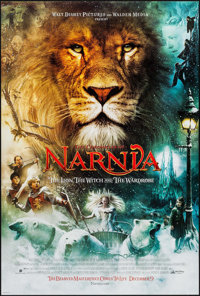 The Chronicles of Narnia: The Lion, the Witch and the Wardrobe & Other Lot (Buena Vista, 2005). One Sheets (2) (...