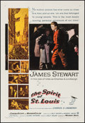 """Movie Posters:Drama, The Spirit of St. Louis (Warner Brothers, 1957). One Sheet (27"""" X41""""). Drama.. ..."""