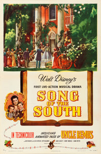 "Song of the South (RKO, 1946). One Sheet (27"" X 41"")"