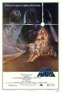 "Movie Posters:Science Fiction, Star Wars (20th Century Fox, 1977). Third Printing One Sheet (27"" X41"") Style A, Tom Jung Artwork.. ..."