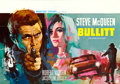 "Movie Posters:Crime, Bullitt (Warner Brothers, 1968). Belgian (14.25"" X 20.25""). Raymond'Ray' Elseviers Artwork.. ..."