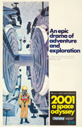 "Movie Posters:Science Fiction, 2001: A Space Odyssey (MGM, 1968). One Sheet (27"" X 41"") Cinerama Style C, Robert McCall Artwork.. ..."