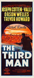 "Movie Posters:Film Noir, The Third Man (Selznick, 1949). Australian Daybill (13.5"" X 30"")....."