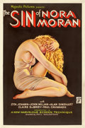 "Movie Posters:Crime, The Sin of Nora Moran (Majestic, 1933). One Sheet (27"" X 41"")Alberto Vargas Artwork.. ..."