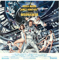 "Movie Posters:James Bond, Moonraker (United Artists, 1979). International Six Sheet (76"" X 78"") Dan Gouzee Artwork.. ..."