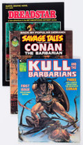 Magazines:Miscellaneous, Assorted Comic Magazines Group of 8 (Various Publishers,1968-83).... (Total: 8 Comic Books)