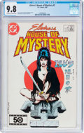 Modern Age (1980-Present):Horror, Elvira's House of Mystery #2 (DC, 1986) CGC NM/MT 9.8 Off-white towhite pages....