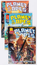 Magazines:Science-Fiction, Planet of the Apes Group of 16 (Marvel, 1975-77) Condition: Average FN/VF.... (Total: 16 Comic Books)