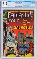 Silver Age (1956-1969):Superhero, Fantastic Four #48 (Marvel, 1966) CGC FN+ 6.5 White pages....
