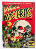 Golden Age (1938-1955):Horror, Dark Mysteries #2 (Master Publications, 1951) Condition: FN+....