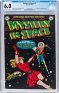 Golden Age (1938-1955):Science Fiction, Mystery in Space #1 (DC, 1951) CGC FN 6.0 Off-white to white pages....