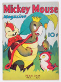 Golden Age (1938-1955):Cartoon Character, Mickey Mouse Magazine V3#8 (K. K. Publications/Western PublishingCo., 1938) Condition: VG+....