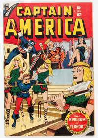 Captain America Comics #62 (Timely, 1947) Condition: FN+