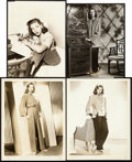 "Movie Posters, Lauren Bacall Lot (Warner Brothers, 1946/1947). Publicity Photos(4) (7"" X 9"" & 8"" X 10"").. ... (Total: 4 Items)"