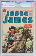 Silver Age (1956-1969):Western, Jesse James #27 (Avon, 1956) CGC NM- 9.2 Off-white to whitepages....