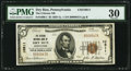 National Bank Notes:Pennsylvania, Dry Run, PA - $5 1929 Ty. 1 The Citizens NB Ch. # 10811. ...