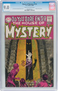 Silver Age (1956-1969):Horror, House of Mystery #174 (DC, 1968) CGC VF/NM 9.0 Cream to off-white pages....