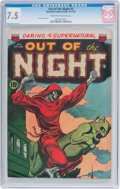 Golden Age (1938-1955):Horror, Out of the Night #5 (ACG, 1952) CGC VF- 7.5 Cream to off-whitepages....