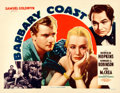 "Movie Posters:Western, Barbary Coast (United Artists, 1935). Half Sheet (22"" X 28"").. ..."