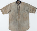 "Baseball Collectibles:Others, Circa 1918 ""Victor Wright & Ditson"" Baseball Uniform. ..."