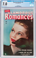 Golden Age (1938-1955):Romance, Glamorous Romances #50 (Ace, 1951) CGC FN/VF 7.0 Cream to off-whitepages....