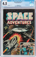 Golden Age (1938-1955):Science Fiction, Space Adventures #4 (Charlton, 1953) CGC VG+ 4.5 Cream to off-whitepages....