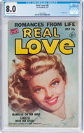 Golden Age (1938-1955):Romance, Real Love #48 (Ace Periodicals, 1952) CGC VF 8.0 Off-white to whitepages....