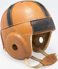 Football Collectibles:Others, Vintage Spalding Football Helmet. ...