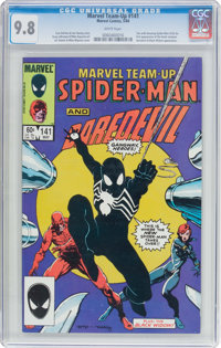 Marvel Team-Up #141 Spider-Man and Daredevil (Marvel, 1984) CGC NM/MT 9.8 White pages