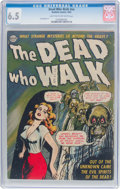 Golden Age (1938-1955):Horror, The Dead Who Walk #nn (Realistic Comics, 1952) CGC FN+ 6.5 Lighttan to off-white pages....