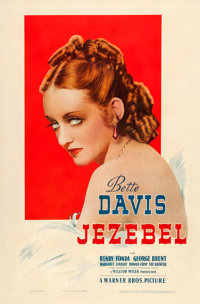 "Jezebel (Warner Brothers, 1938). One Sheet (27"" X 41"")"