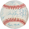 Autographs:Baseballs, New York Mets Legends Multi-Signed Baseball (29 Signatures). ...