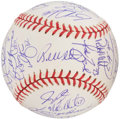 Autographs:Baseballs, 2000 New York Mets Team Signed Baseball (36 Signatures)....