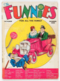 Platinum Age (1897-1937):Miscellaneous, The Funnies #1 (Dell, 1936) Condition: FR....