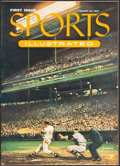 """Baseball Collectibles:Publications, 1954 """"Sports Illustrated"""" Magazine First Issue...."""