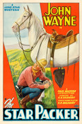 "Movie Posters:Western, The Star Packer (Lone Star, 1934). One Sheet (27"" X 41"").. ..."
