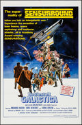 "Movie Posters:Science Fiction, Battlestar Galactica (Universal, 1978). One Sheet (27"" X 41"") FlatFolded Style C. Science Fiction.. ..."