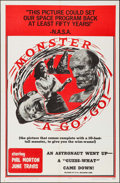 """Movie Posters:Horror, Monster A Go-Go (B.I. and L. Releasing, 1965). Folded, Fine/Very Fine. One Sheet (27"""" X 41""""). Horror.. ..."""