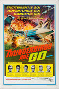 "Movie Posters:Science Fiction, Thunderbirds Are Go (United Artists, 1968). One Sheet (27"" X 41""). Science Fiction.. ..."