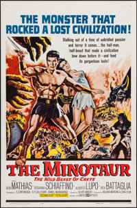 """The Minotaur & Others Lot (United Artists, 1961). One Sheets (3) (27"""" X 41""""). Adventure. ... (Total: 3..."""