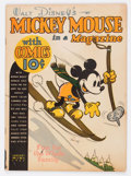 Golden Age (1938-1955):Cartoon Character, Mickey Mouse Magazine V2#4 (K. K. Publications/Western PublishingCo., 1937) Condition: GD/VG....
