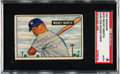 Baseball Cards:Singles (1950-1959), 1951 Bowman Mickey Mantle Rookie #253 Signed, SGC Authentic....