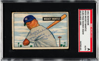 1951 Bowman Mickey Mantle Rookie #253 Signed, SGC Authentic