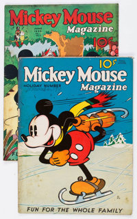 Mickey Mouse Magazine #4 and 9 Group (K. K. Publications/Western Publishing Co., 1935-36) Condition: PR.... (Total: 2 Co...