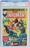 Bronze Age (1970-1979):Superhero, The Inhumans #1 (Marvel, 1975) CGC NM+ 9.6 White pages....