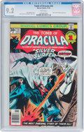 Bronze Age (1970-1979):Horror, Tomb of Dracula #50 (Marvel, 1976) CGC NM- 9.2 White pages....